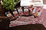 Salami Wurst Probier-Paket Snack Selection Geschenkbox - 7 verschiedene Produkte - 390 g