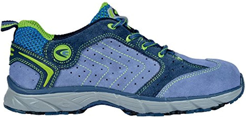 Cofra JV033-000 - Zapatos de seguridad s1p twister nuevo trabajo volar, trabajo zapatos de tamaño 47, azul,