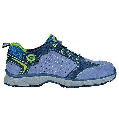 Cofra scarpe di sicurezza New TWISTER S1P Work Flying, lavoro scarpe taglia 46, colore blu, JV033–000