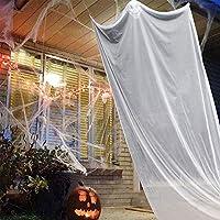 ATROPOS هالوين ديكور مخيف شنقا الشبح دعائم هالوين معلقة الهيكل العظمي الشبح الطيران للبار ساحة السوبر ماركت في الهواء الطلق في الداخل (أبيض)