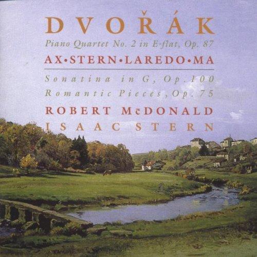 Preisvergleich Produktbild Dvorak: Klavierquartett Es-Dur Op. 87,  Romantische Stücke für Violine und Klavier Op. 75,  Sonatine G-Dur Op. 100