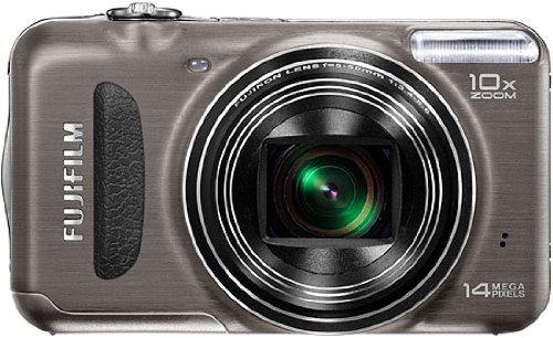 Fujifilm Finepix T200 Digitalkamera (14 Megapixel, 10-fach opt. Zoom, 6,9 cm (2,7 Zoll) Display, bildstabilisiert) graphit