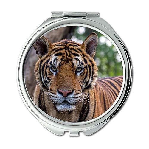 Yanteng Spiegel, Make-upspiegel, große Katze der Tiertierphotographie, Taschenspiegel, beweglicher Spiegel