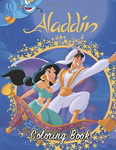 Aladdin Coloring Book: Great Activity Book for Kids