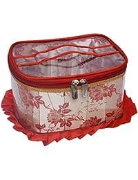 SuiDhaga Jama Red Makeup Kit Royal Round (Dimension: 20*25*14 CM)