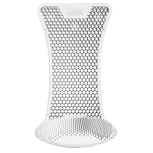 T Market Products Urinalschutz und Urinalmatten mit Desodorierungsmittel für Urinale bis zu 60 Tagen und Neutralisierungsmittel für Gerüche und Spritzschutz (6 Einheiten) Aroma der Blüte -