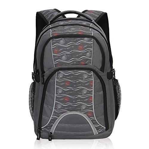 Imagen de veevan bolsas de viaje de negocios laptop colegio  hasta 17 pulgadas  gris  alternativa