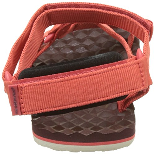 The North Face Base Camp Switchback, Sandales Bride Cheville Femme Rouge (Cayenne Red/regal Red)