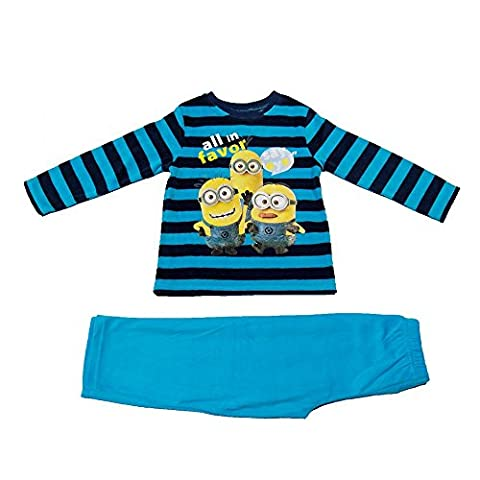 Les Minions - Pyjama velour long - 6 ans