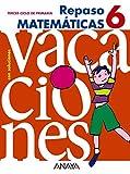Cuaderno matemáticas 6º educación primaria repaso - 9788466705448