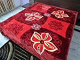 Florida Algeta Double Bed Blanket- Red
