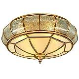 WCZ Personalisierte Dekorative Beleuchtung LED, Beleuchtung, Wohnzimmer, Essbereich, Modern, Minimalistisch, Eisen, Weizen, Deckenleuchten, Runde, Schlafzimmer (53 * 20Cm)