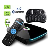 Globmall Android TV Box with Free Mini Qwerty Keyboard,...
