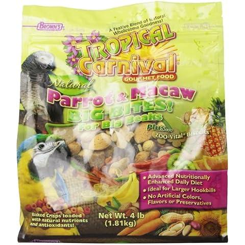 Tropical Carnival Natural Parrt/macaw 4lb 6pc
