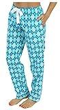 PajamaMania Flanell Pyjamahose für Damen Nachtwäsche