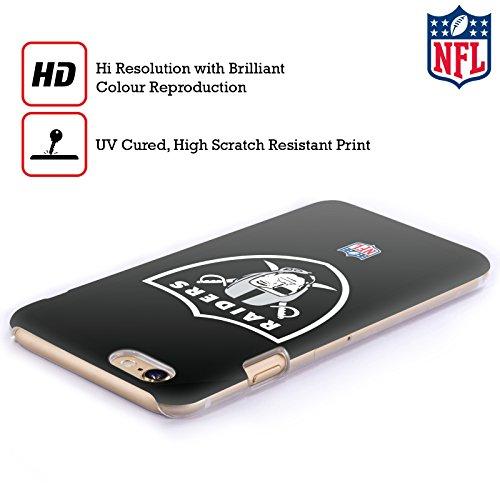 Offizielle NFL Camou Oakland Raiders Logo Ruckseite Hülle für Apple iPhone 6 Plus / 6s Plus Einfarbig