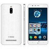 Google Smartphone Telefoni Offerte 24GB Android 8.1 V·Mobile A13 5.5 Pollici Telefonia Mobile 3G Supporta Dual SIM CPU 4 Core GPS Bluetooth WIFI Cellulare 3000mAh Batteria 5MP Fotocamera (Bianco)