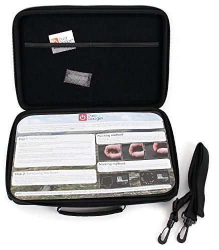 Hartschalentasche / Koffer mit anpassbarer Schaustoffeinlage für UDIRC U839 Nano 3D RC Quadcopter und Zubehör / Ersatzteile - 6