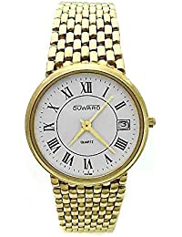 9ededb499284 Reloj Duward oro 18k hombre panter liso cierre oculto 6324  AB3893  -  Modelo