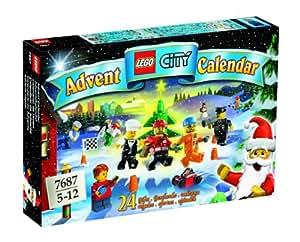 Lego - 7687 - Jeu de construction - City - Supplément - Le calendrier de l'avent