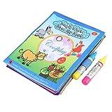 Hztyyier Libro da Disegno di Acqua Magica, Pittura Magica da colorare per Bambini, Penna da Disegno per Bambini, Giocattolo per l'apprendimento precoce