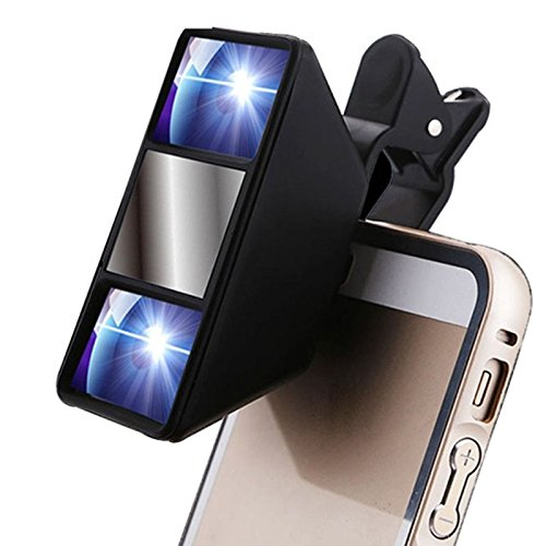 Generic Universal 3D Mini-Handy-Kamera-Objektiv iPhone 6S / 6 Plus Samsung S7 / S6 Google Nexus Tablet