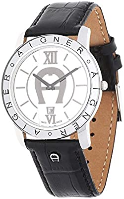 Reloj de pulsera para hombre Aigner Murano de visita negras A35121