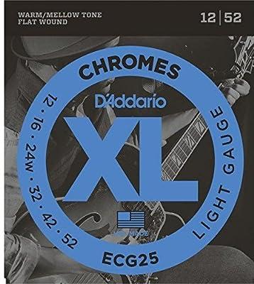 ECG25 Chromes - Regular Light Electric Strings
