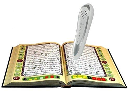 Digitaler Stiftleser mit Tajweed Koran (Othmani Script) (mittlere Größe 14 x 19)