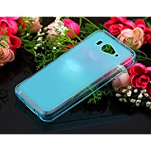 Prevoa ® 丨Funda protectora de silicona para XiaoMi Mi 2 Mi2 M2 2S Mi2S cover case --- Azul