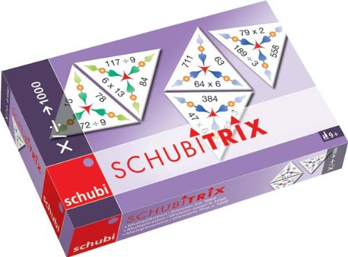SCHUBITRIX Multiplikation / Division bis 1000: 3. bis 6. Klasse