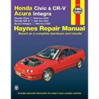Honda Civic & CR-V - Acura Integra: Honda Civic - 1996 thru 2000 - Honda CR-V - 1997-2001 - Acura Integra 1994 thru 2000 by Larry Warren (Oct 21 2005) - 1998 Honda Acura