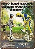 Sary buri GT Zoot BMX Scooter Freestyle Bike en Métal Plaque Mur Art Peinture Décoration