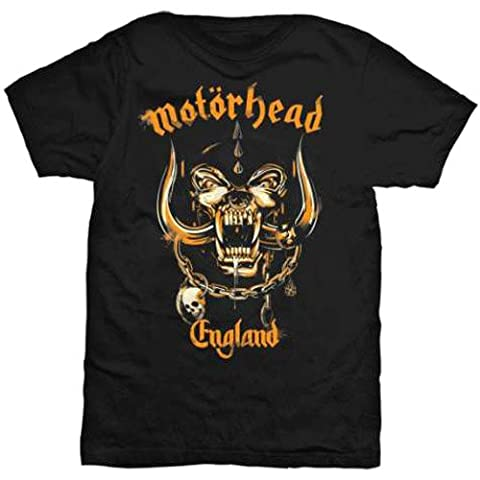70s Groupe - Motorhead - T-Shirt - Manches Courtes Homme,