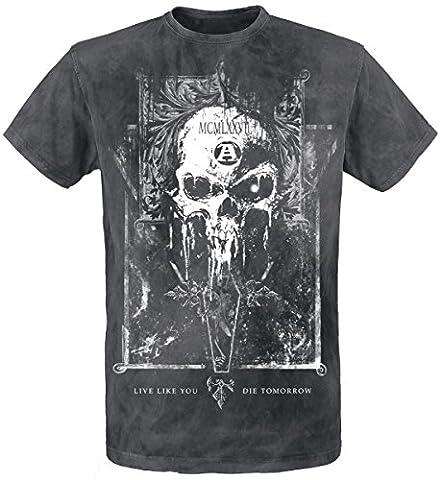Alchemy England Mortis Capitas T-shirt noir XXL