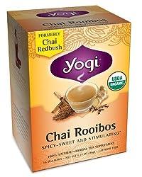 YOGI TEA,OG2,CHAI ROOIBOS, 16 BAG