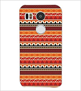 PrintDhaba Pattern D-5479 Back Case Cover for LG NEXUS 5X (Multi-Coloured)