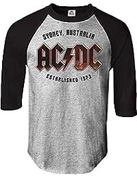 Ac/Dc - AC / DC - Est pour hommes. 1973 Sydney Jersey