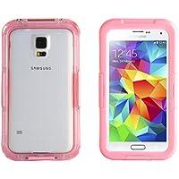 JAMMYLIZARD | Schutzhülle Salamander Waterproof für Samsung Galaxy S5, S4und S3Rosa