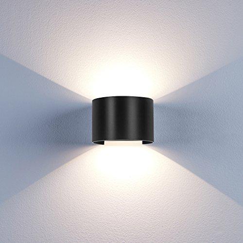 LED Wandleuchte Innen Warmweiß mit Einstellbar Abstrahlwinkel 12W IP65 Up Down