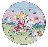 Prinzessin Lillifee LI-102 Druckteppich, 100 cm, rund