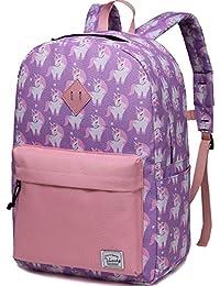 10ca35e541 VASCHY Kids School Backpack Rucksack for Boys Girls Children s Backpack  Toddler Backpack Kindergarten Book Bag with