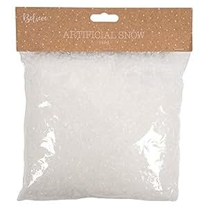 Neve artificiale (140g bag), motivo natalizio fiocchi di neve–scena di neve finta
