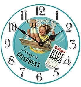Rice Krispies de Kellogg Swing fille 30cm horloge