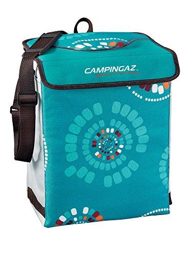 Campingaz Kühltasche Ethnic MiniMaxi 19L, Isoliertasche mit Tragegurt, kühlt bis zu 13 Std, faltbare Isotasche zum Einkaufen, Camping oder als Picknicktasche