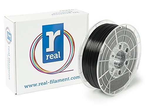 Price comparison product image Real Filament 8719128328881 Real PETG,  Spool of 1 kg,  1.75 mm,  Opaque Black