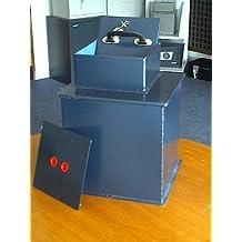 Double Eagle - Caja fuerte para montaje en suelo (12 l, 345 x 205 x 305 mm)