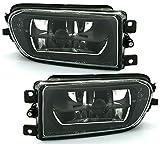 AD Tuning GmbH & Co. KG DEPO Nebelscheinwerfer Set Halogen Schwarz Facelift Optik NSW Fog