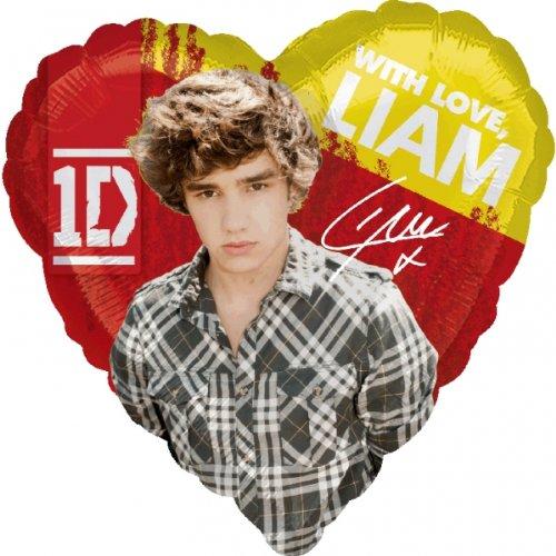 45,7cm Folie Lic One Direction Liam Ballon Party-a2683701