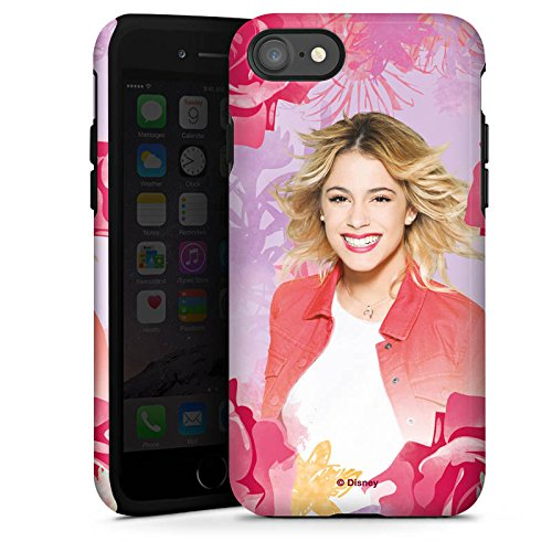 Apple iPhone 5s Hülle Premium Case Cover Disney Violetta Geschenke Merchandise Tough Case glänzend